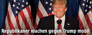 Donald Trump lächelt