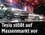 Präsentation des Modell 3 der Firma Tesla
