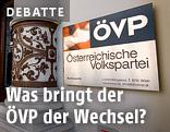 ÖVP-Schild