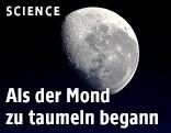 Die Mond vom Weltall aus gesehen
