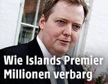 Islands Premier Sigmundur David Gunnlaugsson