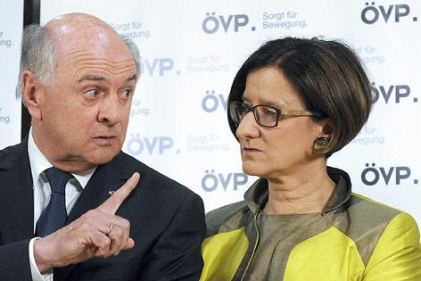 ÖVP-Bundesparteivorstand zur Personalrochade