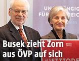 Veronika Piech, Erhard Busek, Irmgard Griss, Matthias Strolz und Britta Adamovich-Wagner