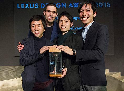 Sieger des Lexus Design Award 2016