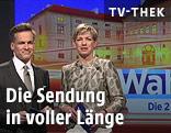 ORF-Moderatoren Tarek Leitner und Marie-Claire Zimmermann