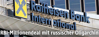Zentrale der Raiffeisen Bank International