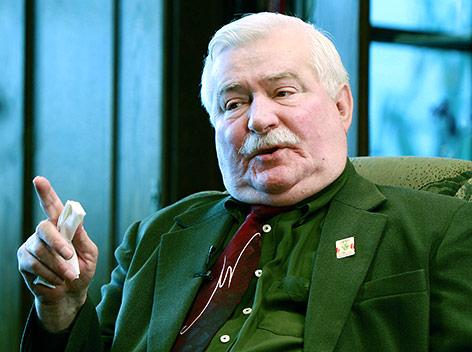 Friedensnobelpreisträger Lech Walesa