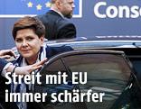Die polnische Premierministerin Beata Szydlo