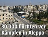 Stadtansicht von Aleppo