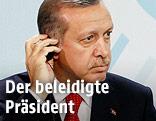 Der türkische Premierminister Erdogan