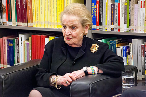 US-Ex-Außenministerin Madeleine Albright