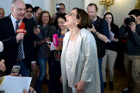 Die scheidende Innenministerin Johanna Mikl-Leitner