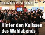 Medienberichterstatter während der Hofburg-Wahl