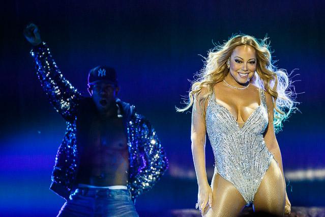 Mariah Carey in der Stadthalle