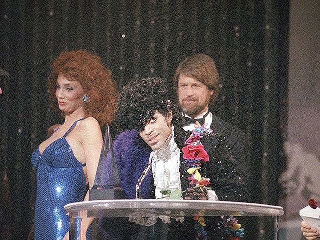 Prince 1985 bei den American Music Award