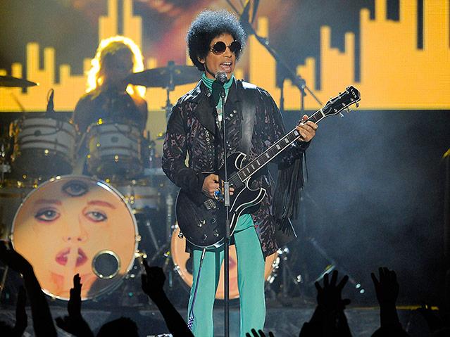 Prince bei den Billboard Music Awards in der MGM Grand Garden Arena in Las Vegas, 2013