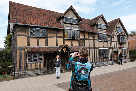 Geburtshaus von William Shakespeare in Stratford-upon-Avon