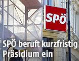 Baugerüst vor der SPÖ-Parteizentrale