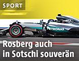 Nico Rosberg auf der Strecke