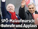 Bundeskanzler Werner Faymann und der Wiener Bürgermeister Michael Häupl
