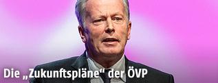 Vizekanzler Reinhold Mitterlehner