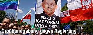 Proteste gegen die polnische Regierung
