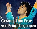 Prince bei einem Konzert