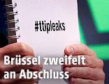 Greenpeace Bericht wird präsentiert