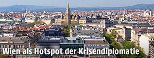 Wien aus der Vogelperspektive