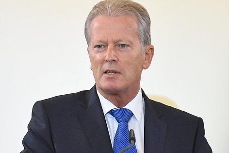 Der interimistische Bundeskanzler Reinhold Mitterlehner (ÖVP)
