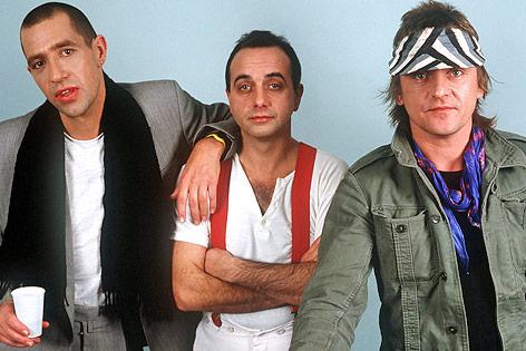 """Die deutsche Musikgruppe """"Trio"""" im Jahr 1983"""
