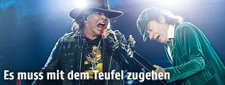 AC/DC mit Axl Rose beim Konzert in Wien