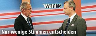 Norbert Hofer, Alexander Van der Bellen