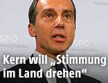 Der designierte SPÖ-Chef und Bundeskanzler Christian Kern