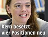 Die bisherige Präsidentin der Universitätenkonferenz (Uniko) Sonja Hammerschmid