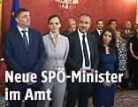 Angelobung der neuen Minister