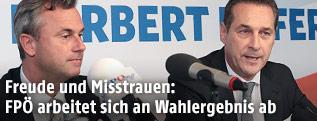 Norbert Hofer und Heinz-Christian Strache