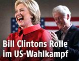 Hillary Clinton mit ihrem Mann Bill