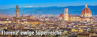 Panoramaansicht von Florenz