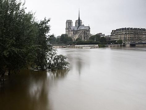 Die Seine bei Notre Dame