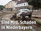 Schäden nach dem Hochwasser im niederbayerischen Simbach