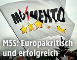 """Flagge der """"Italia 5 Stelle"""" Bewegung"""