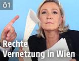 Front National-Präsidentin Marine Le Pen
