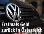 VW-Logo auf Kühlergrill