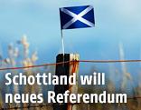 Schottland-Flagge
