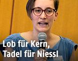 Vorsitzende der Sozialistischen Jugend Fiona Kaiser