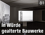 """Kunstinstallation im Zuge der Ausstellung """"Beton"""""""