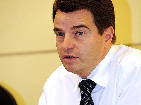 Der belgische Diplomat Didier Seeuws