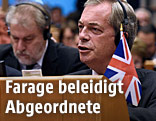 UKIP-Chef Nigel Farage im EU-Parlament
