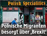 Ein polnischer Lebensmittelladen in London